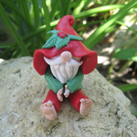 Fairy Garden Gnome, Miniature Garden Gnome, Fairy Garden Accessories, unique fairy garden, Fairy garden gnome decoration, Home  decorations