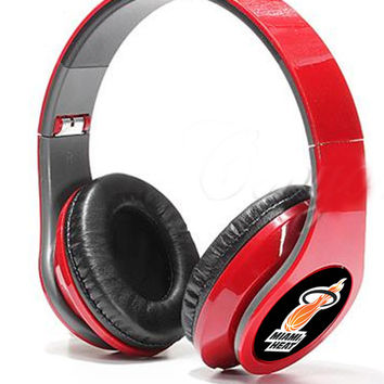 Miami Heat Headphones Sp 2014