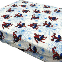 Marvel Spider-Man Webslinger Toddler Bedding Fitted Sheet