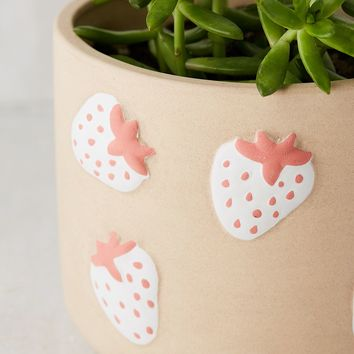 Strawberry Icon Planter | Urban Outfitters