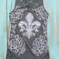 cowgirl tank tops with rhinestones | Elusive Cowgirl