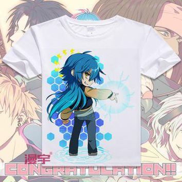 Dramatical Murder Short Sleeve Anime T-Shirt V4