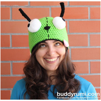 PATTERN: Gir crochet hat pattern, winter accessory