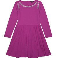 Heartbreaker Embellished Ponte Dress by Juicy Couture,