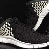 "Fashion ""Nike"" Free Inneva Knit Woven Running Sport Shoes"
