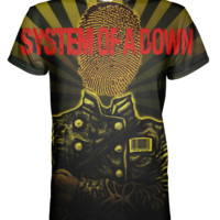 System Of A Down All Over Print T-shirt