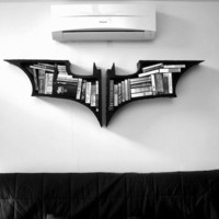 The Dark Knight Bookshelves - $267 | The Gadget Flow