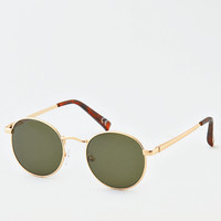 AEO Metal Round Sunglasses, Gold