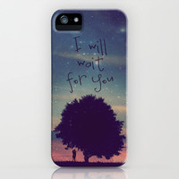 I will wait for you iPhone Case by M✿nika  Strigel	for iPhone 3G, 3GS, 4, 4S and iPhone 5! Grab yours for christmas ...<3