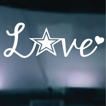 Army Love Vinyl Graphic Decal