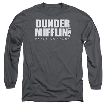 The Office - Dunder Mifflin Long Sleeve Adult 18/1