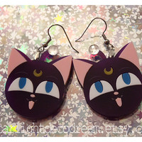 LUNA P Sailor Moon Inspired Acrylic Earrings for Mahou Kei & Magical Girl Fashion