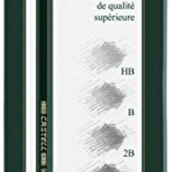 Faber-Castell 9000 Graphite Pencils Art Tin Set of 6 - HB - 8B