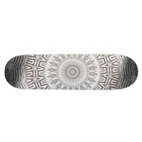 METAL Element Kaleido Pattern skateboard from TheElementalHome* on Zazzle