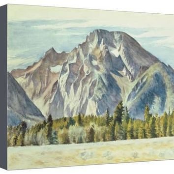 Mount Moran, 1946 Giclee Print by Edward Hopper at Art.com