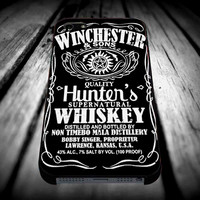 Winchester and Sons Sam and Dean Supernatural for iPhone 4/4s/5/5s/5c/6/6 Plus Case, Samsung Galaxy S3/S4/S5/Note 3/4 Case, iPod 4/5 Case, HtC One M7 M8 and Nexus Case **