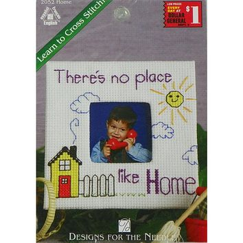 There's No Place Like Home - Counted Cross Stitch Kit