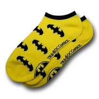 DC Comics Batman Logo Ankle Socks