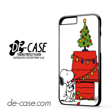 Snoopy Christmas Lights Tree For Iphone 6 Iphone 6S Iphone 6 Plus Iphone 6S Plus Case Phone Case Gift Present