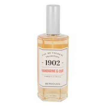 1902 Mandarine Leather Eau De Cologne (Unisex Tester) By Berdoues
