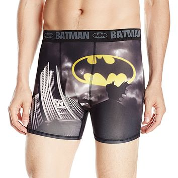 Batman Dark Knight Mens Novelty Boxer-Brief Shorts