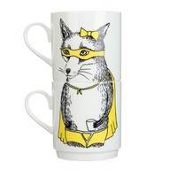 "JIMBOBART ""Mr Hare"" mug set"