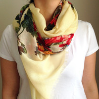 Shawl, Scarf, Trendy Scarf, Women Scarves, Pareo, Accessories, Gift, Bamboo Scarf, Fashion Scarf