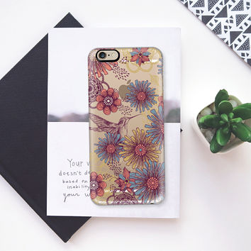 Hummingbird iPhone 6 case by Rose | Casetify