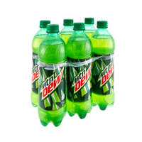 Mountain Dew Soda (6 pack bottles/16.9 oz.) Buy Groceries Online - Grocery Delivery - Mail Order