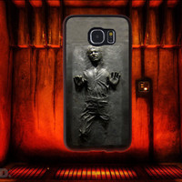 Han Solo in Carbonite, Star Wars Inspired, Custom Phone Case for Galaxy S4, S5, S6