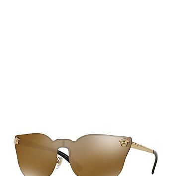 Versace - JJ Cat-Eye Bronze Sunglasses