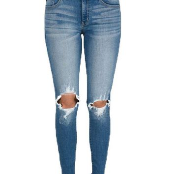 ICIKAB3 Kan Can Medium Wash Morgan Savina Skinny Jeans