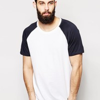Only & Sons | Only & Sons Contrast Raglan Sleeve T-Shirt at ASOS