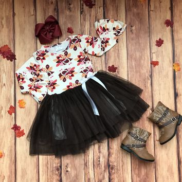RTS Thanksgiving Turkey TuTu Dress