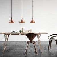 Copper pendant lamp ORIENT Orient Collection by Lightyears | design Jo Hammerborg