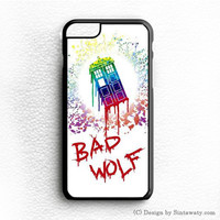 Doctor Who Bad Wolf iPhone 6 Case Sintawaty.com