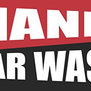 Hand Car Wash 2ftx4ft Vinyl Retail Banner Sign