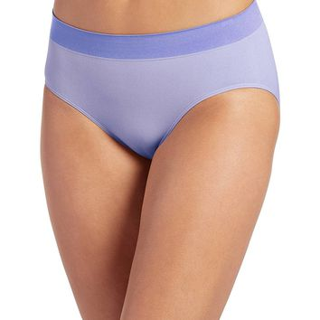 Jockey Women's Underwear Modern Micro Seamfree Hi Cut