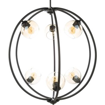 Surya Axel 6 Light Chandelier