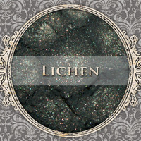LICHEN Mineral Eyeshadow: 5g Sifter Jar, Dark Moss Green, VEGAN Cosmetics, Shimmer Eye Shadow