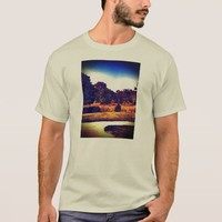 Cool blue nature shiry T-Shirt