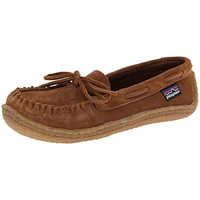Patagonia Womens Suede Slip On Moccasins