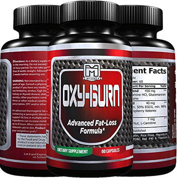 Best thermogenic fat burner | high quality Appetite Suppressant with Energy booster | Metabolism support | Increase muscle strength | Mental Focus | 100% natural ( 60 count )