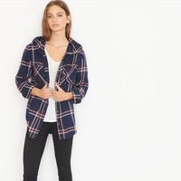 Hooded Boyfriend Shirt