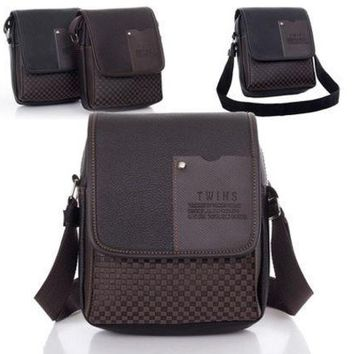 ESBONG Fashion Men's Synthetic Sport Leather Bag VIntage Handbag Shoulder Tote Bag Messenger Briefcase