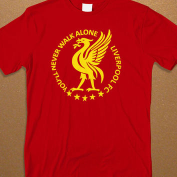 You'll Never Walk Alone Liverpool Men's T-shirt, Football T-shirt, Awesome Shirt