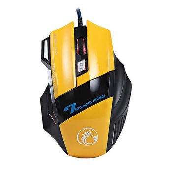Malloom Gaming Mice Optical Positioning Rechargeable Finger mouse Wired 3200 DPI For Computer Pc Laptop