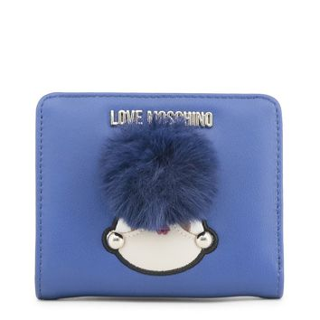 Love Moschino Blue Puff Wallet