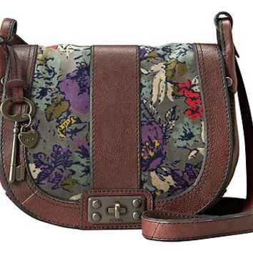 AUTHENTIC $ 158  Fossil Vintage Re-Issue Flap Crossbody with Lock Bag on eBay!