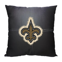 New Orleans Saints NFL Team Letterman Pillow (18x18)